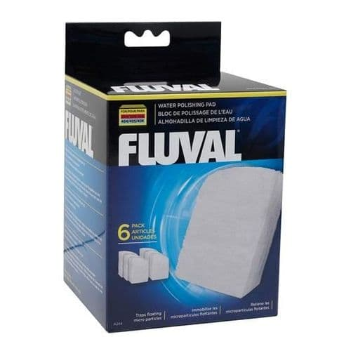 Fluval Polishing Pad for 304/305/306/307 and 404/405/406/407, 6 pieces